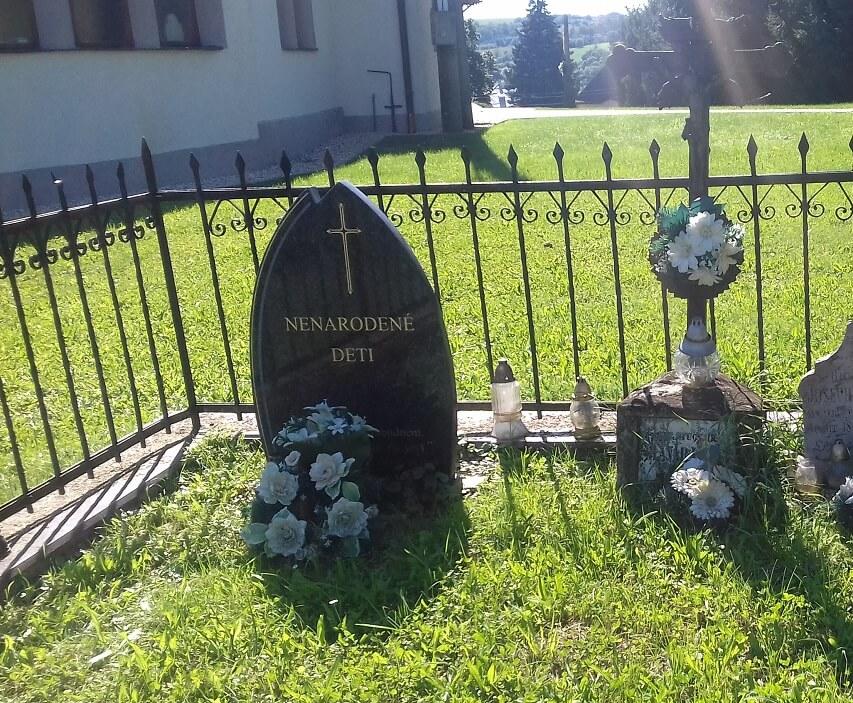 Ohradzany - pamätník nenarodeným