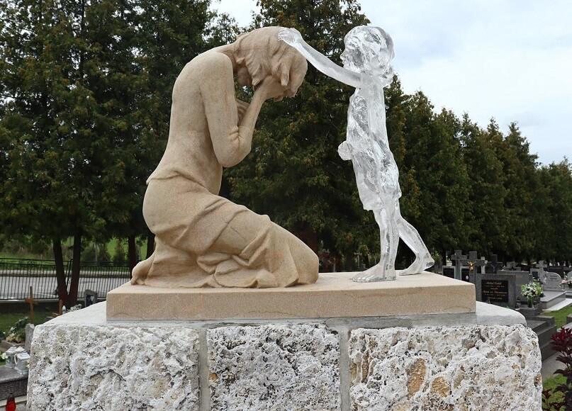 Stropkov - pamätník nenarodeným
