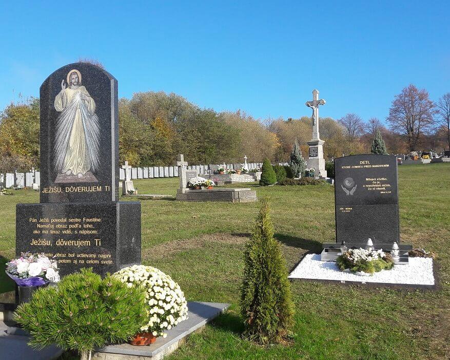 Kobyly - hrob pre potratené deti