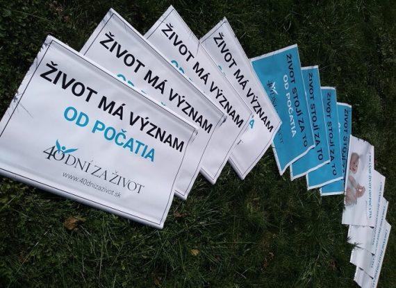 40 dní za život v Prešove